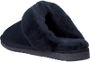 Blauwe WARMBAT Pantoffels FLURRY WOMEN SUEDE - small