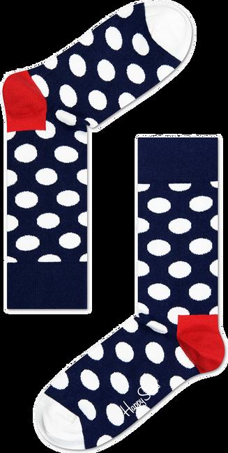 Blauwe HAPPY SOCKS Sokken BIG DOT - large