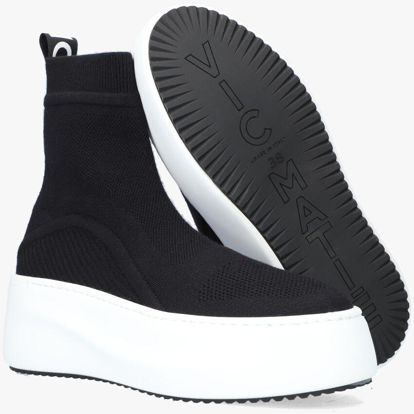 Zwarte VIC MATIE Hoge sneaker 1W3414D  - larger