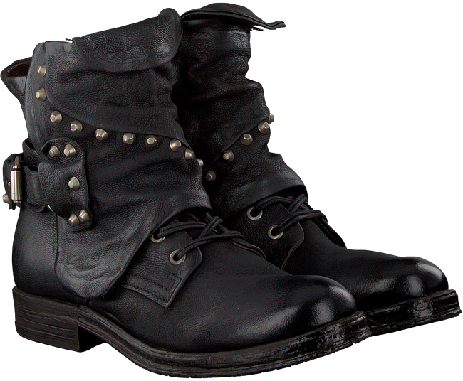 Zwarte A.S.98 Biker boots 207250 - large