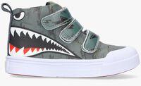 Grijze GO BANANAS Hoge sneaker SHARKY  - medium