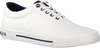 Witte TOMMY HILFIGER Sneakers HERITAGE TEXTILE SNEAKER  - small