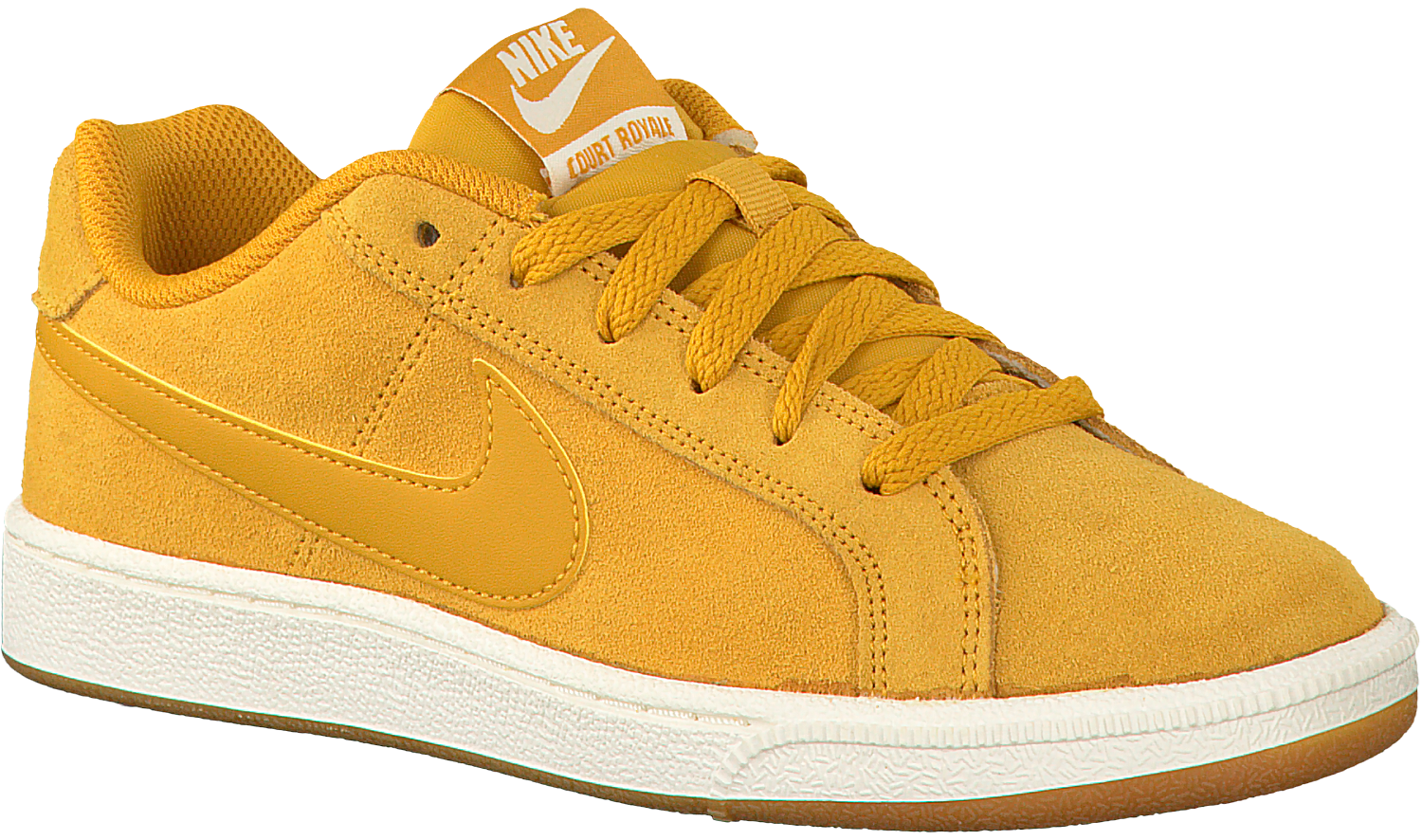 Gele NIKE Sneakers COURT ROYALE SUEDE WMNS - Omoda.nl