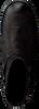 Zwarte CA'SHOTT Enkellaarsjes 12025  - small