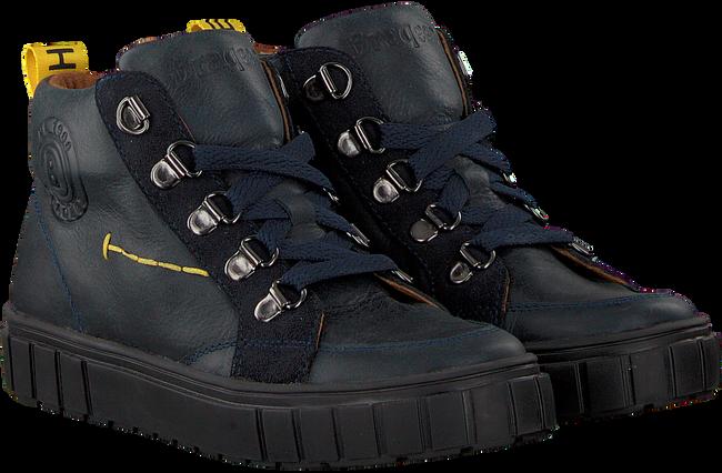 Blauwe BRAQEEZ Sneakers LAURENS LUX  - large