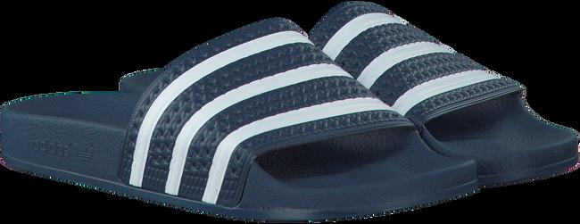 Blauwe ADIDAS Slippers ADILETTE HEREN  - large