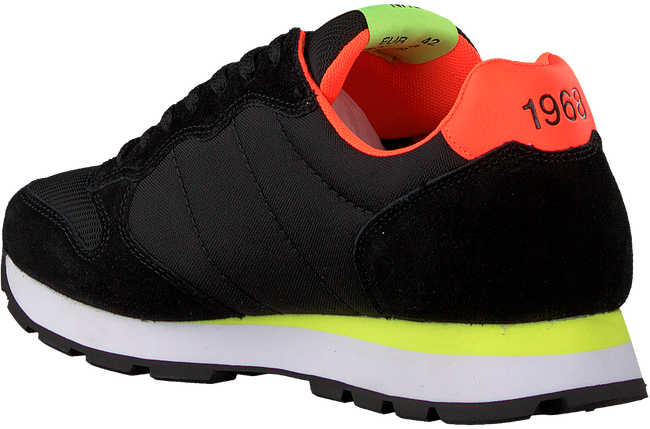 Zwarte SUN68 Lage sneakers TOM FLUO MEN - large