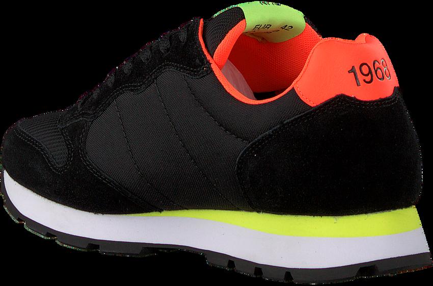 Zwarte SUN68 Lage sneakers TOM FLUO MEN - larger