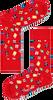 Rode HAPPY SOCKS Sokken GIF01 - small