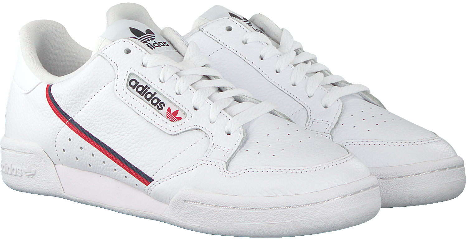 Witte ADIDAS Sneakers CONTINENTAL 80 W | Omoda