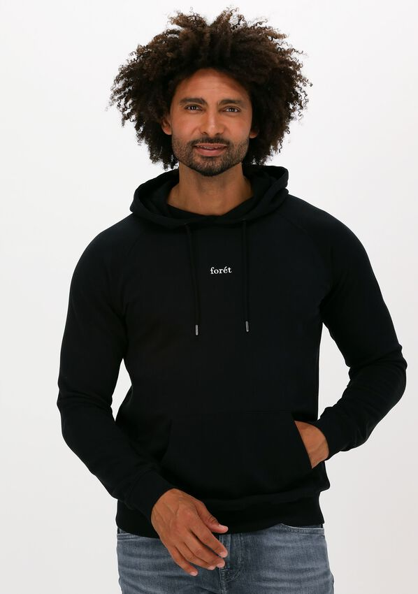 Zwarte FORÉT Sweater BISON HOODIE - larger