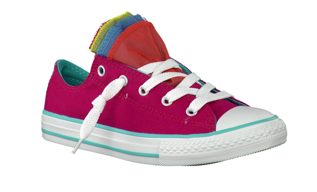 Roze CONVERSE Sneakers AS PARTY SHINE SLIP  - large