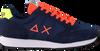 Blauwe SUN68 Lage sneakers TOM FLUO MEN - small