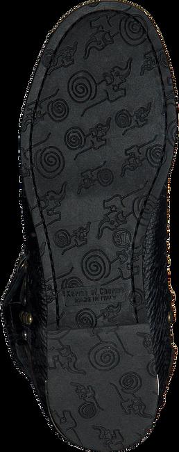 Zwarte KARMA OF CHARME Enkellaarsjes TREASURE  - large