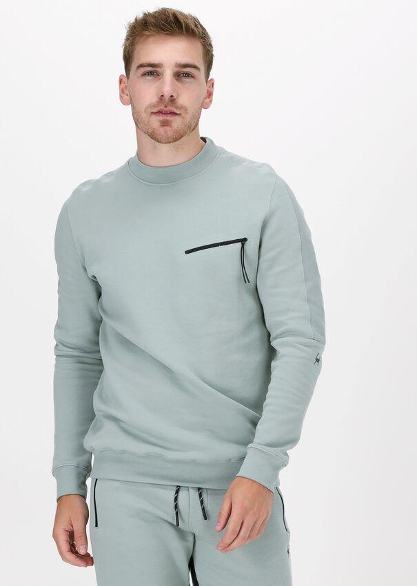 Grijze GENTI Sweater J4000-3221 - larger
