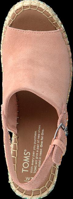 Roze TOMS Espadrilles MONICA - large