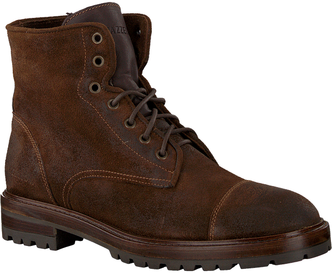 Bruine MAZZELTOV Veterboots 3829A  - large