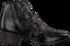 Zwarte PAUL GREEN Enkellaarsjes 9125 - small