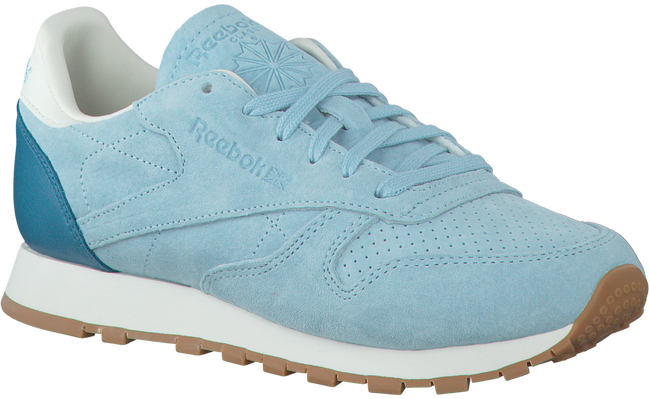 Blauwe REEBOK Sneakers CL LEATHER WMN - large
