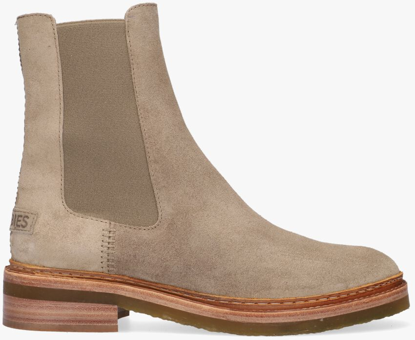 Beige SHABBIES Chelsea boots 181020368  - larger