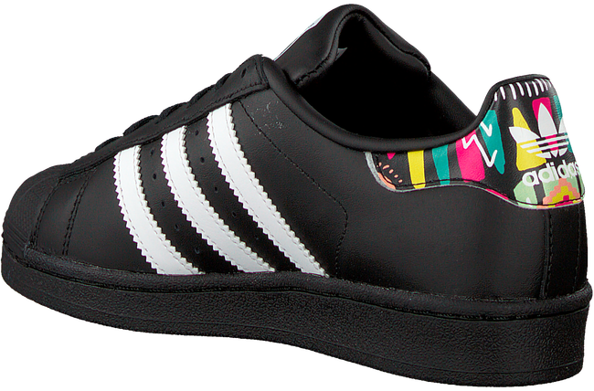 Zwarte ADIDAS Sneakers SUPERSTAR J  - large