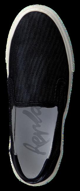 Zwarte REPLAY Slip-on sneakers  TRIO  - large