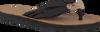 Zwarte TOMMY HILFIGER Slippers BEACH SANDAL  - small