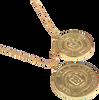Gouden NIKKIE Ketting NIKKIE NECKLACE  - small