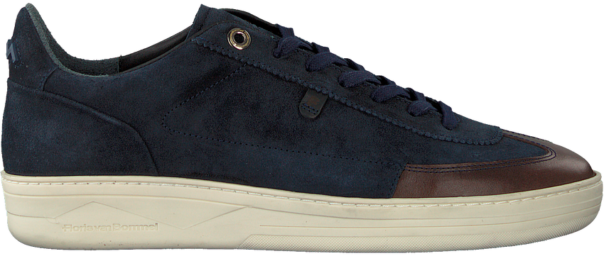 Blauwe FLORIS VAN BOMMEL Lage sneakers 16267  - larger