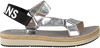 Zilveren TOMMY HILFIGER Sandalen FRESH MODERN METALLIC SAN - small