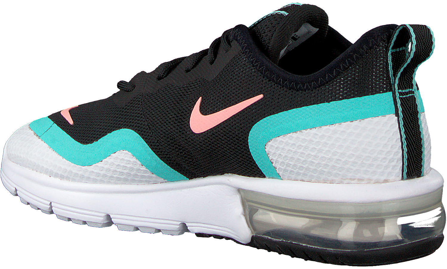 Zwarte NIKE Sneakers AIR MAX SEQUENT 4.5 WMNS