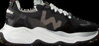 Zwarte WOMSH Lage sneakers FUTURA DAMES - medium