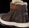 Bruine VINGINO Sneakers SIL MID FUR  - small