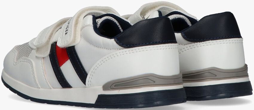 Witte TOMMY HILFIGER Lage sneakers 30723  - larger