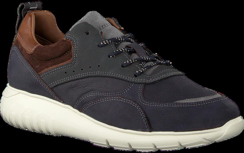 Blauwe MAZZELTOV Sneakers MNAGO105.02OMO1  - larger