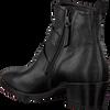 Zwarte MJUS Enkellaarsjes 187216  - small