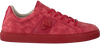 Rode GUESS Sneakers LUISS B PRINTED ECO LEATHER  - small