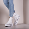 Witte CONVERSE Hoge sneaker CHUCK TAYLOR ALL STAR LIFTXHI  - small