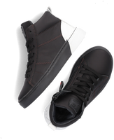 Zwarte JOCHIE & FREAKS Hoge sneaker JF-21682  - medium