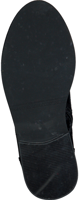 Zwarte BRAQEEZ Veterboots PERLA PLEUN  - large