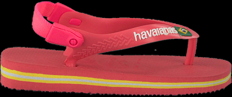 c568f9a452b Roze HAVAIANAS Slippers HAV.BABY BRASIL LOGO - Omoda.nl