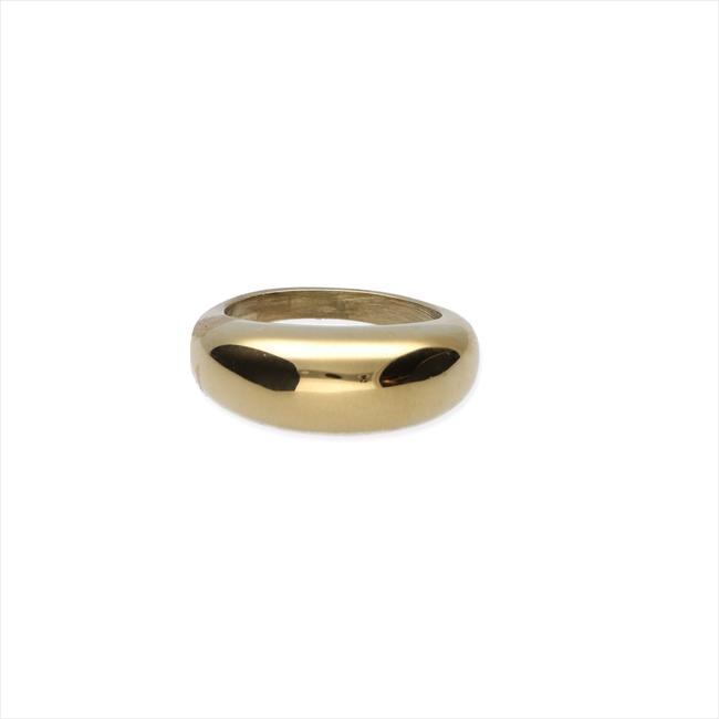 Gouden NOTRE-V Ring RING ZEGEL ONE SIZE  - large