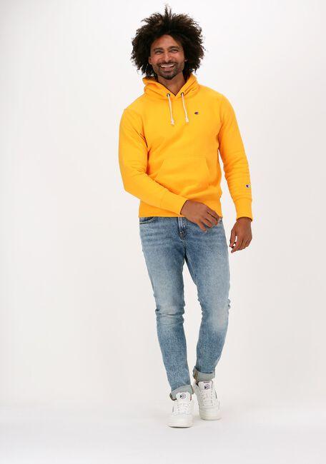 Gele CHAMPION Sweater REVERSE WEAVE HOODIE - large