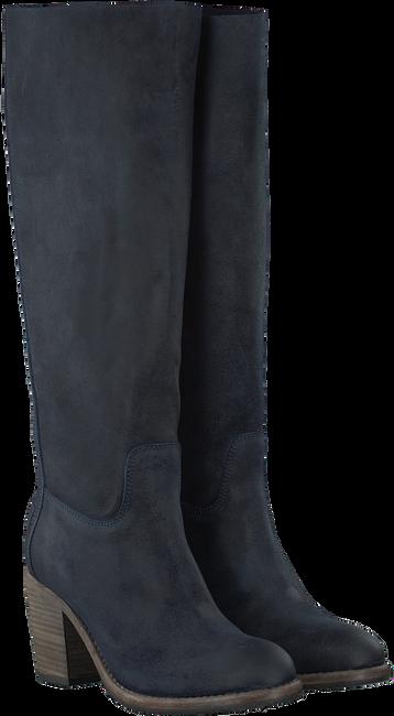 Blauwe SHABBIES Lange laarzen 250191  - large