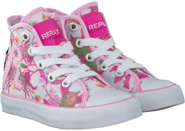 Witte REPLAY Sneakers RESEDA  - large