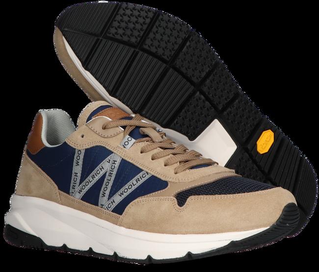 Beige WOOLRICH Hoge sneaker TRAIL RUNNER MAN CAMOSCIO  - large