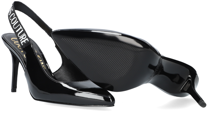 Zwarte VERSACE JEANS Pumps SCARLETT DIS S52  - larger