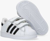 Witte ADIDAS Lage sneakers SUPERSTAR CF I  - medium