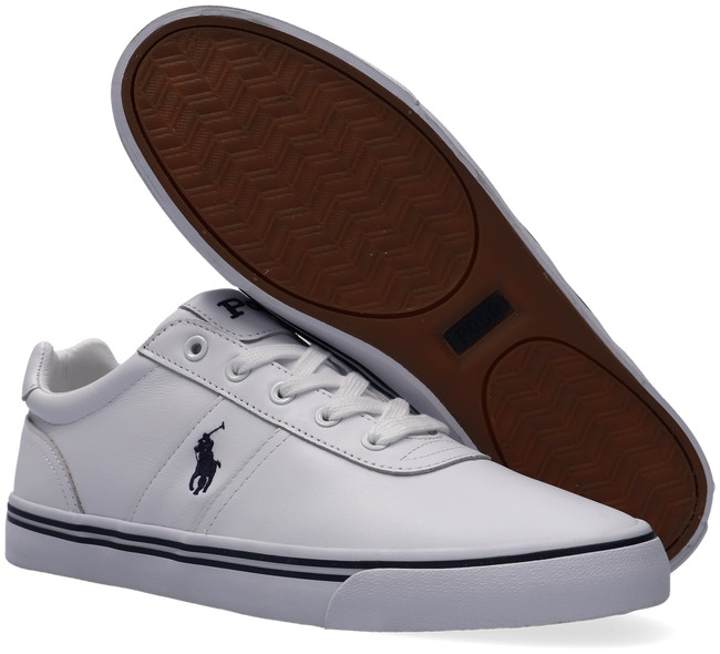 Witte POLO RALPH LAUREN Lage sneakers HANFORD  - large