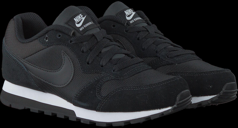 تجربة ما يعادل قابل للقياس Nike Md Runner 2 Sneakers Dames Zwart Ballermann 6 Org